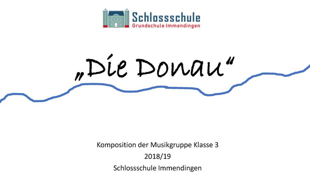 Die Donau Praesentation Seite 1